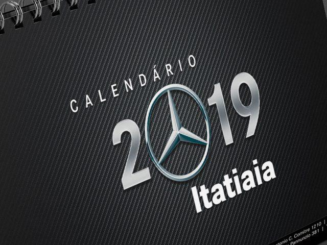 Itatiaia mantém tradição com calendários de mesa