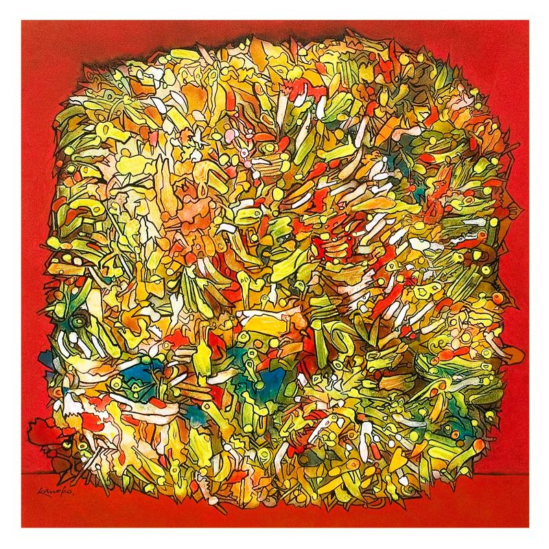 Uma das inúmeras obras desse extraordinário artista.
