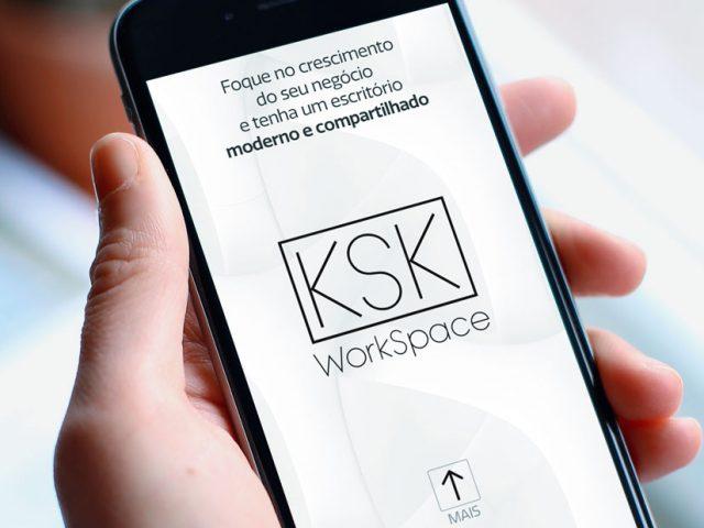 KSK WorkSpace promove espaço via WhatsApp