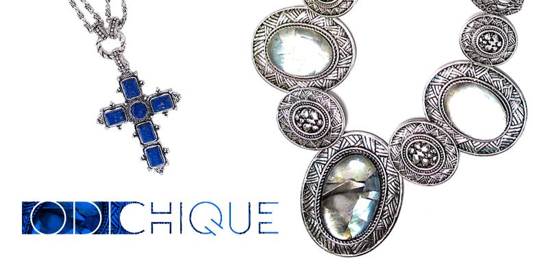 O site está repleto de maxi colares, brincos, anéis e pulseiras, de encher os olhos