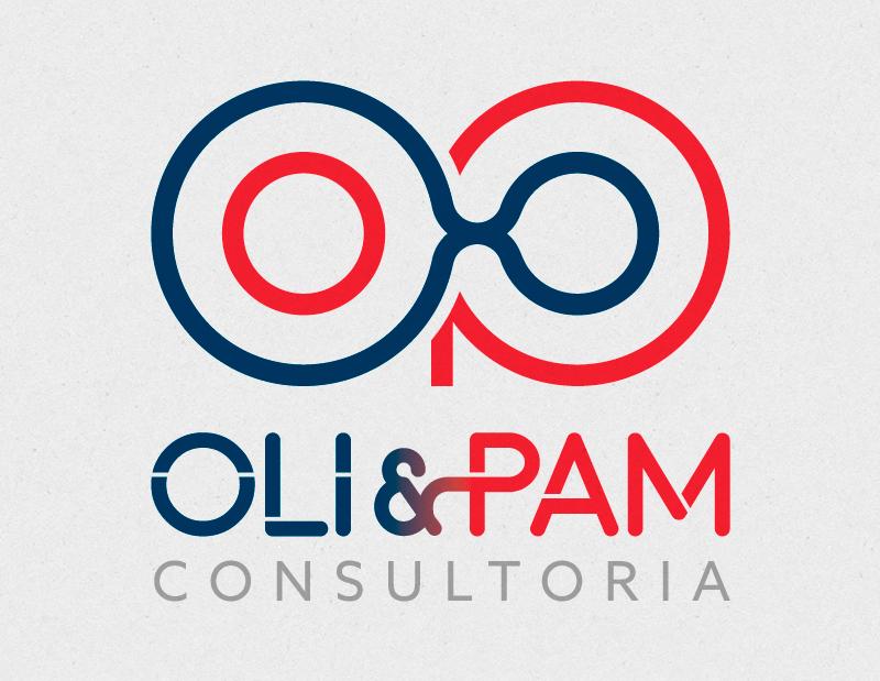 Marca criada para a OliePam Consultoria