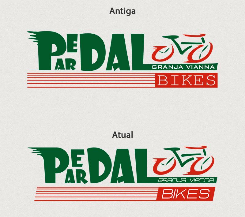 O antes e o depois da revitalização da marca