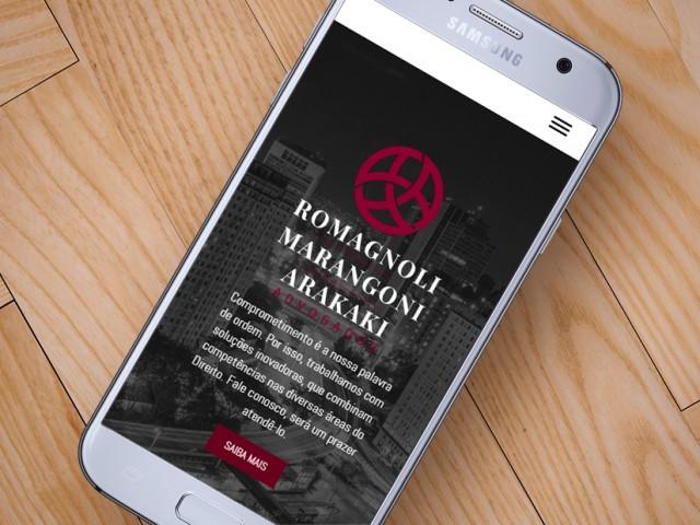 Romas Advogados tem novo site