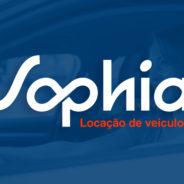 Desenhamos a nova marca da Sophia Locação de veículos