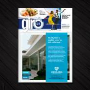 Vidrologia ilustra capa do Jornal Giro S/A